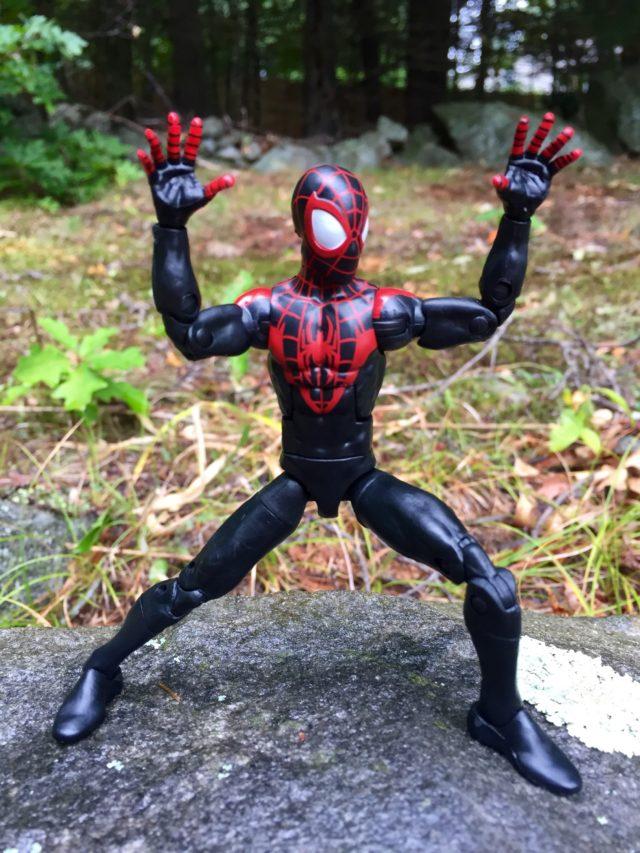 """Miles Morales Marvel Legends Spider-Man 6"""" Figure"""