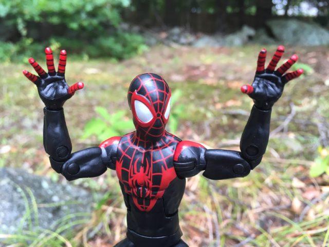 Hasbro Miles Morales Spider-Man Head Sculpt Close-Up