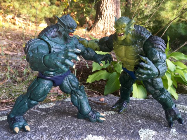 Marvel Legends Abomination Figures Comparison Photo