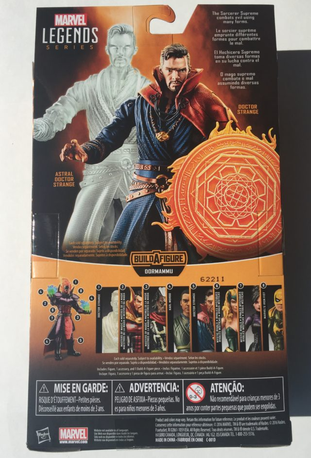 Doctor Strange Legends Packaging Back