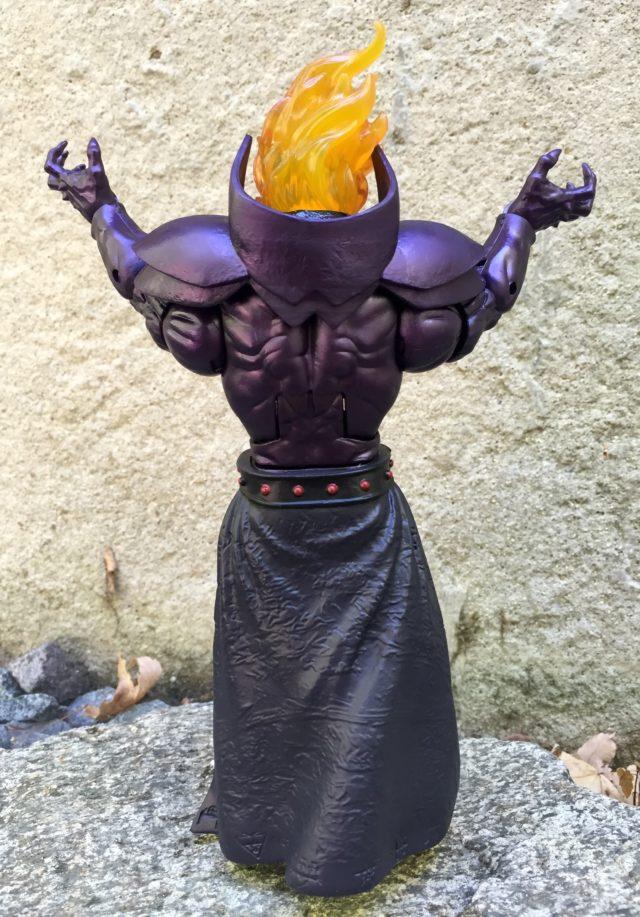 Back of Dormammu Marvel Legends Build-A-Figure