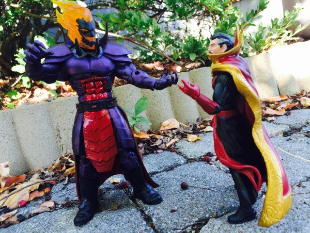 Marvel Legends Doctor Strange Dormammu Figure Review