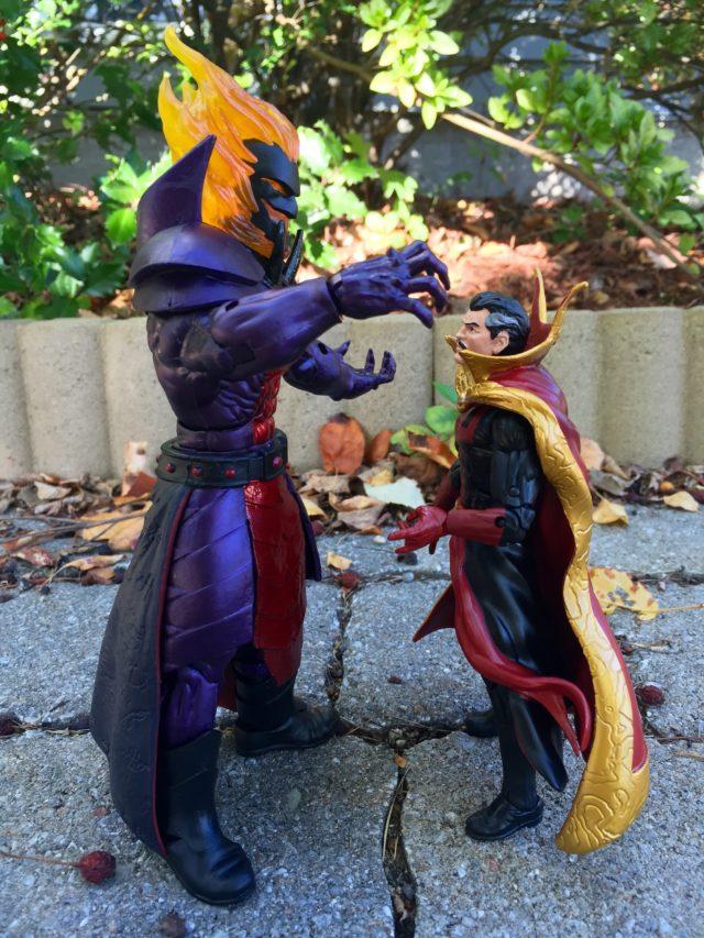 Size Comparison Doctor Strange and Dormammu Marvel Legends Figures
