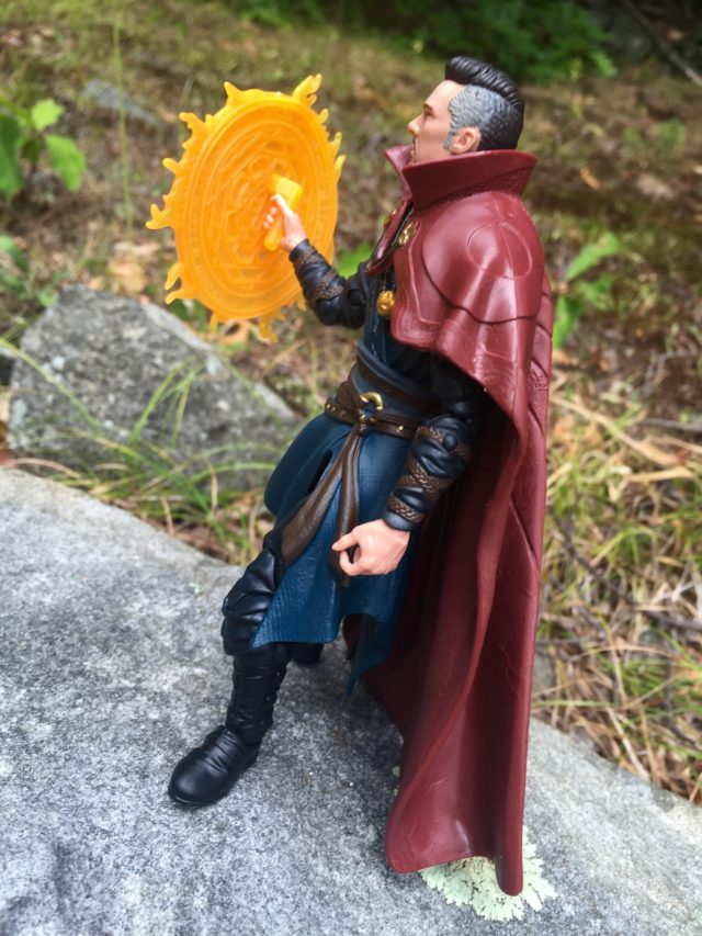"Hasbro Doctor Strange Movie 6"" Figure Holding Rune by Handle"