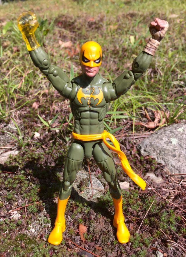 "Iron Fist 6"" Marvel Legends Figure 2016"