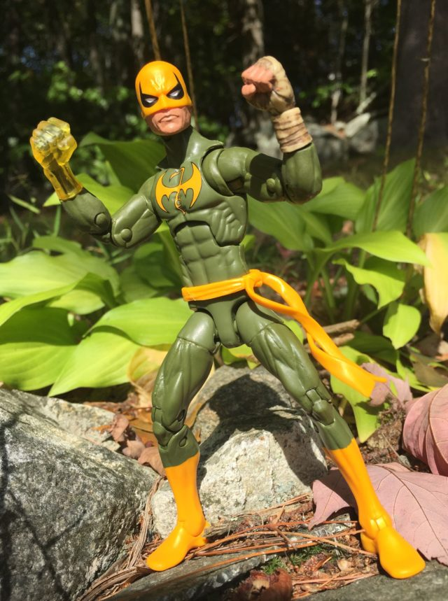 Hasbro Iron Fist Six Inch Figure Dormammu Build-A-Figure Series