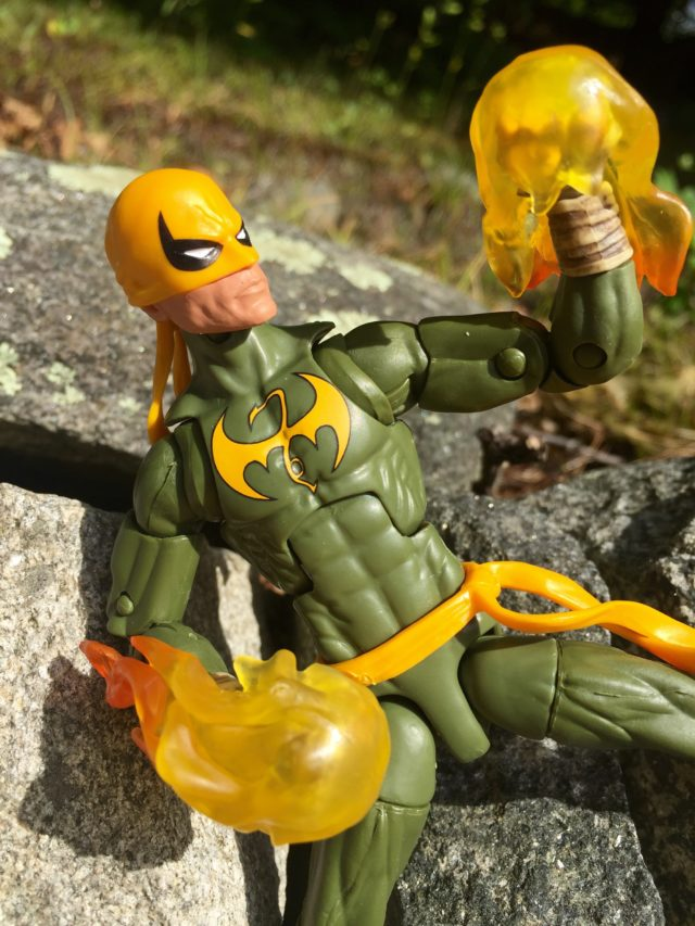 Marvel Legends 2016 Iron Fist Effects Piece Hands