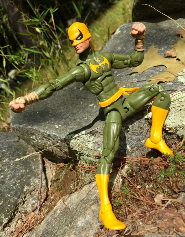"6"" Iron Fist Marvel Legends Figure with Wrapped Fists"