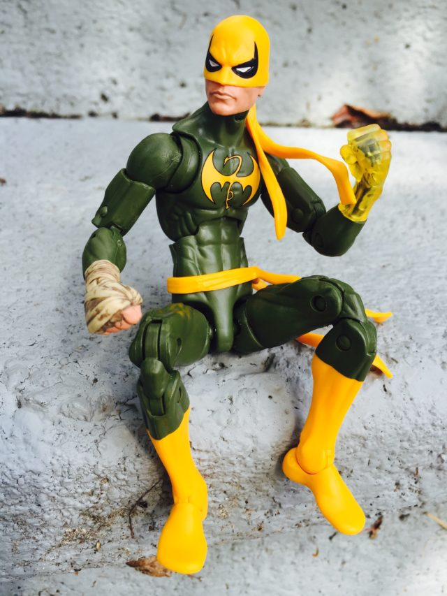 Marvel Legends Iron Fist Review Doctor Strange Series