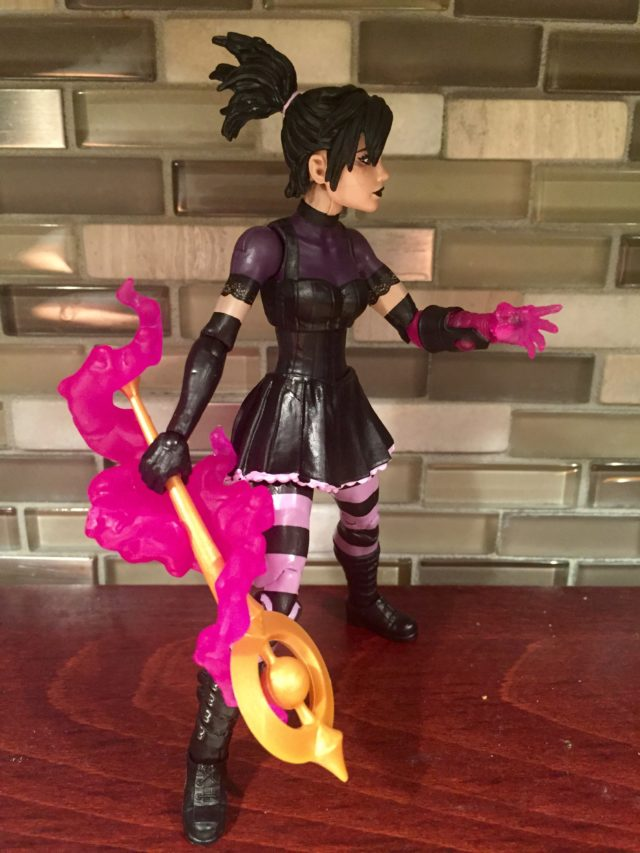 "Side View of Marvel Legends Nico 6"" Figure"