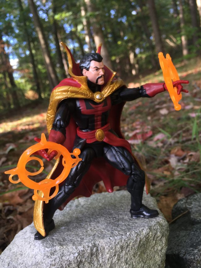 "Side View of Marvel Legends 6"" Doctor Strange Comic Figure"
