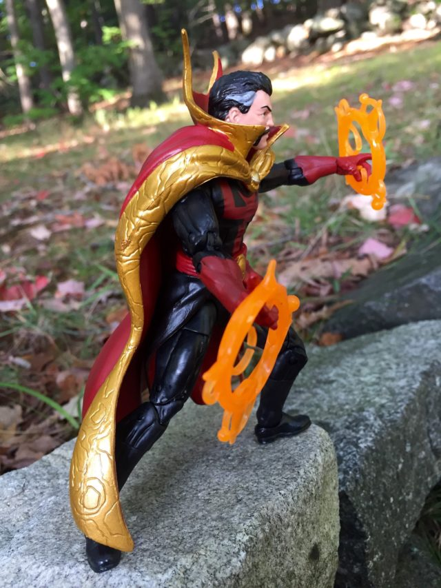 Side View of Marvel Legends 2016 Doctor Strange Action Figure