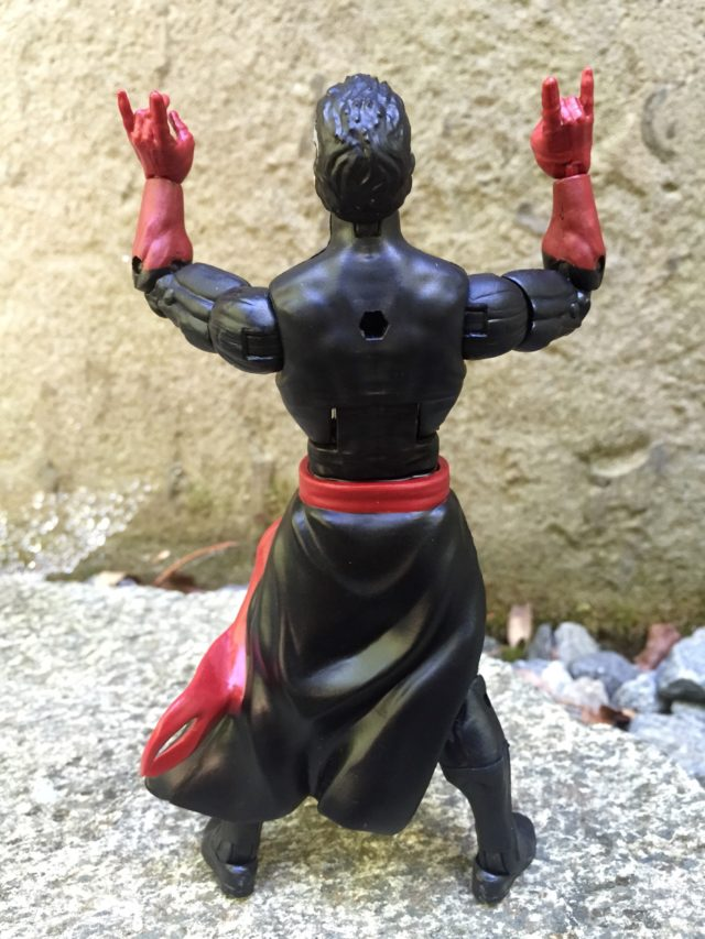 Back of Hasbro Modern Doctor Strange Marvel Legends Figure