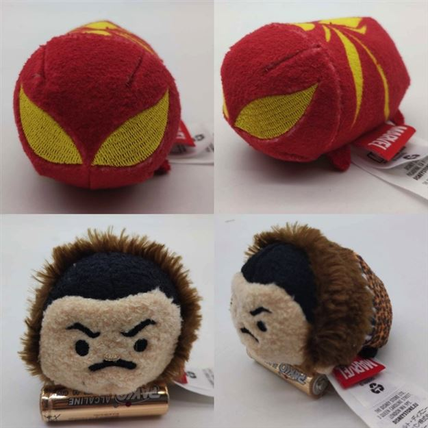 Iron Spider and Kraven Tsum Tsum Plush Toys