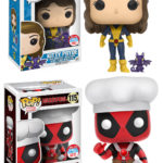 NYCC 2016 POP Vinyls  Kitty Pryde & Chef Deadpool Exclusives!