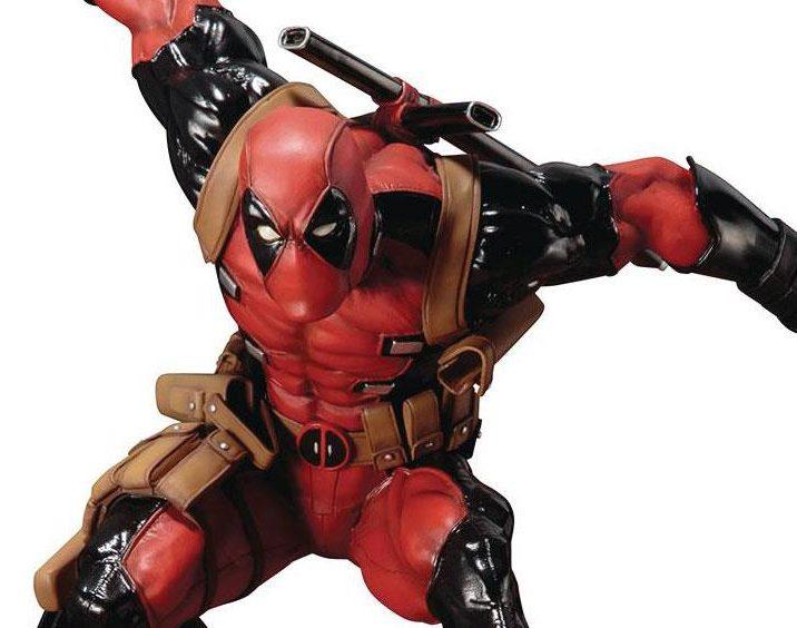 Deadpool 30 Superhéroes: Super Deadpool ARTFX+ Kotobukiya Statue Revealed!