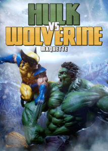 Sideshow Collectibles Hulk vs. Wolverine Maquette