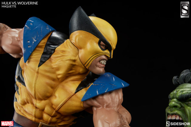 Sideshow Exclusive Original Wolverine Portrait Head Close-Up