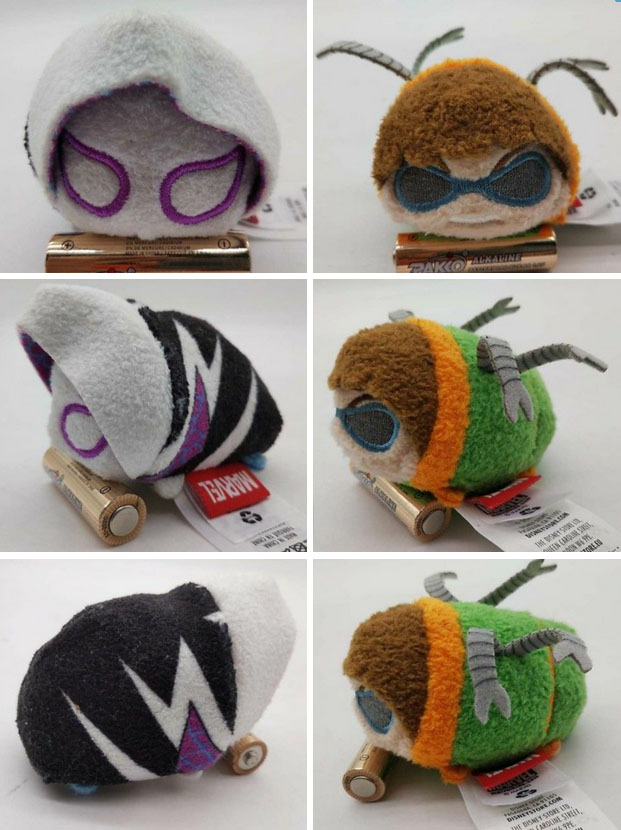 Spider-Man Tsum Tsums Doc Ock Spider-Gwen Plush
