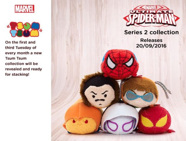 Ultimate Spider-Man Tsum Tsum Series 2 Plush