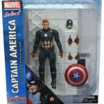 Exclusive Marvel Select Civil War Unmasked Captain America!