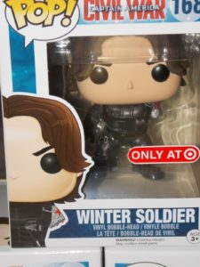 Winter Soldier Without Arm Funko Civil War POP Vinyls Figure