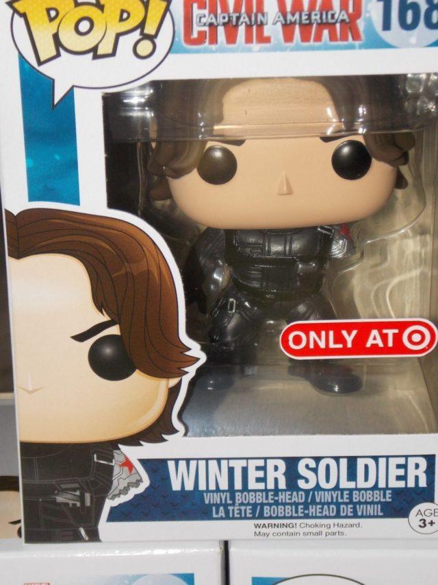 Winter Soldier Without Arm Funko Civil War POP Vinyls Figure