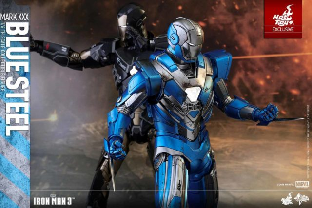 battle-damaged-chest-plate-on-iron-man-mark-15-blue-steel-hot-toys-mms