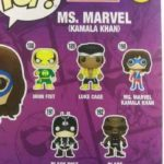 Funko POP Vinyls Ms. Marvel Luke Cage Blade & Iron Fist Revealed!