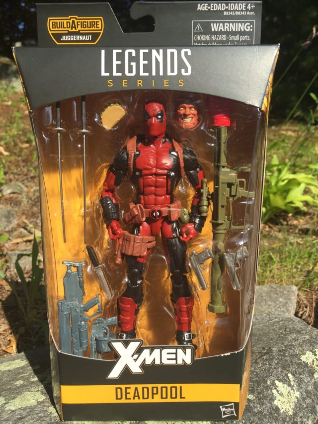 Packaged X-Men Legends Deadpool Figure