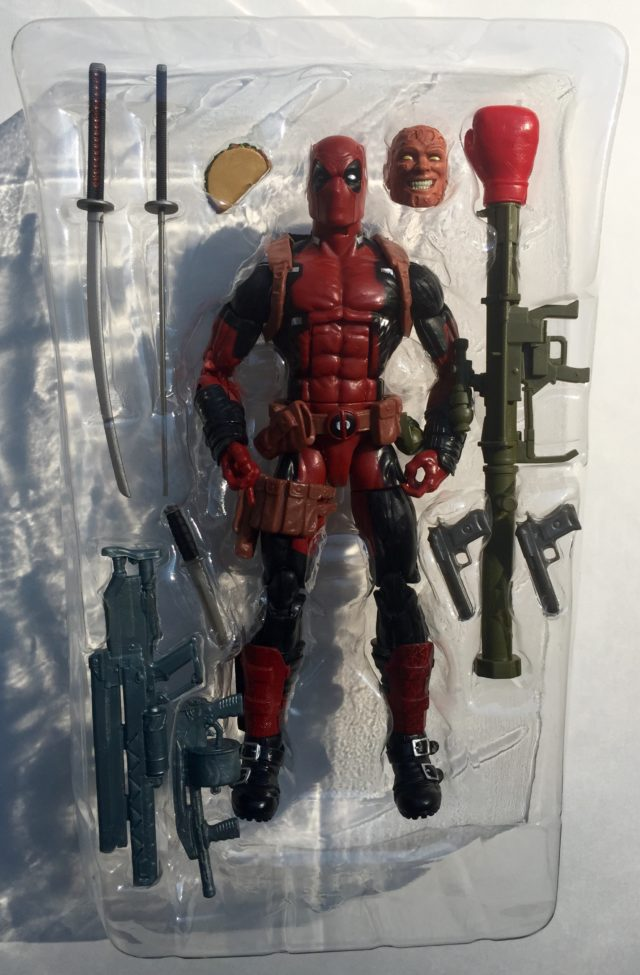 Marvel Legends X-Men Deadpool Figure Accessories
