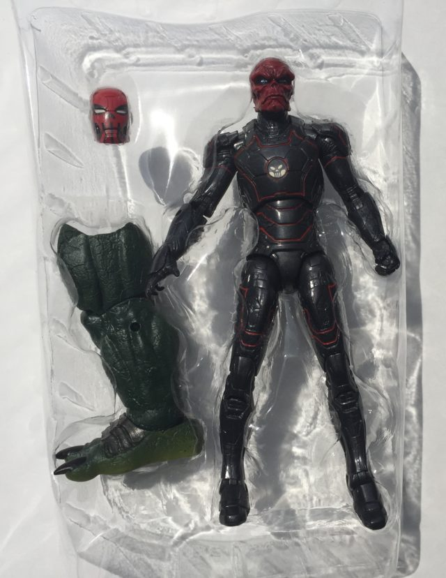 Marvel Legends Red Skull Iron Skull Figure and Accessories