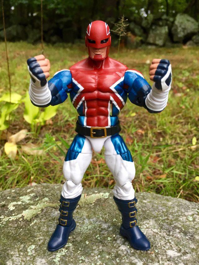 """Captain America Legends Captain Britain 6"""" Figure Review"""