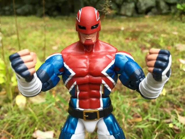 Hasbro Captain Britain Marvel Legends Action Figure