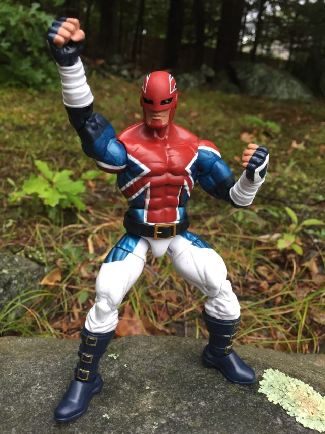 Marvel Legends 2016 Captain Britain Figure Hasbro Six Inch