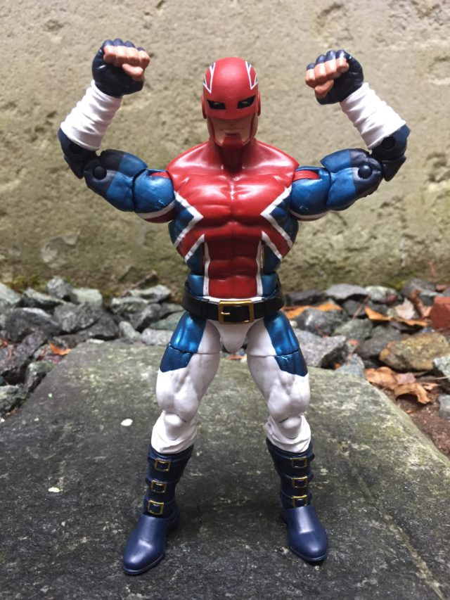 Marvel Legends Civil War Captain Britain Figure Review