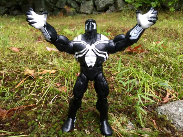Hasbro Marvel Legends Spider-Man 2016 Wave 2 Space Venom Build A Figure