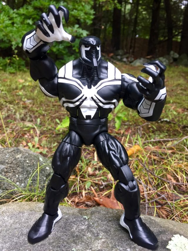 Spider-Man Legends Space Knight Venom Figure Flexing Claws