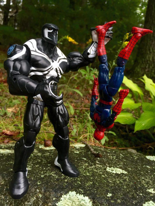 Space Venom BAF Hasbro Kills Spidey