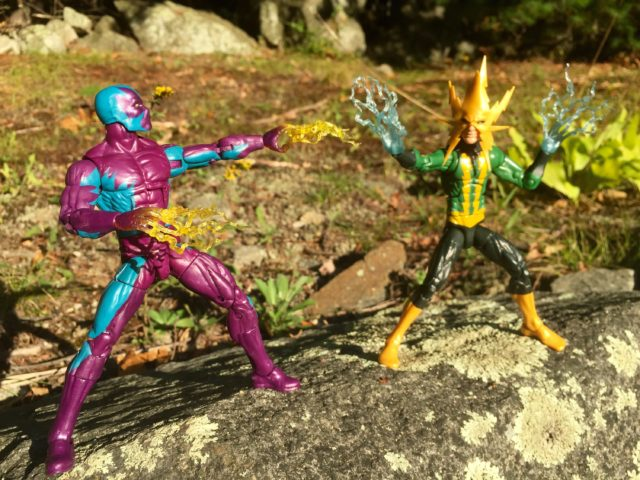 2016 Marvel Legends Eel vs. Electro Hasbro 6""