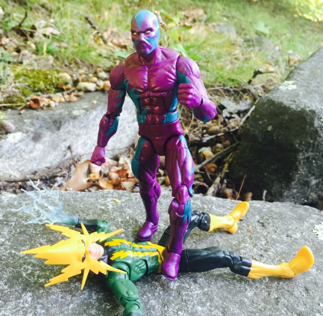 Marvel Legends The Eel Figure with Alternate Hands Kills Electro