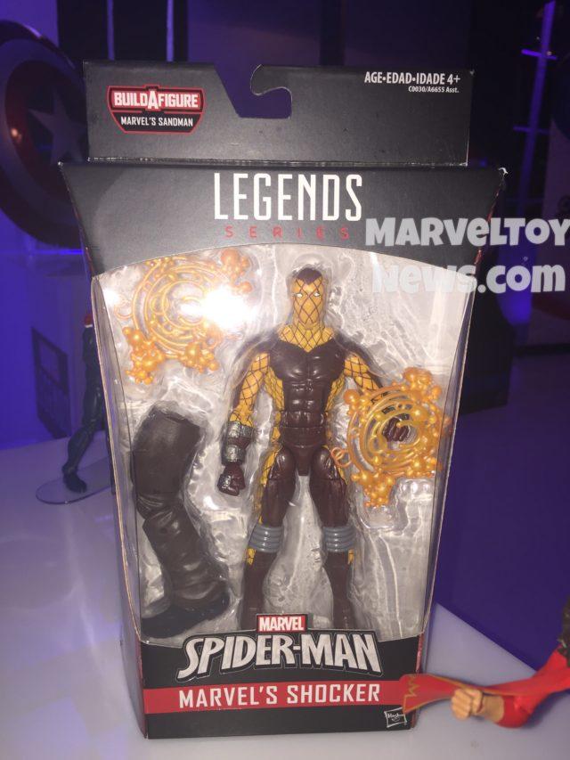 Marvel Legends Shocker Packaged NYCC 2016