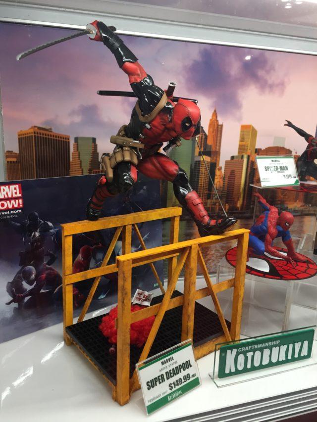 NYCC 2016 Koto ARTFX Deadpool Statue