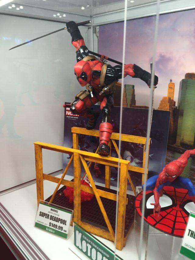 Kotobukiya Super Deadpool Statue NYCC 2016