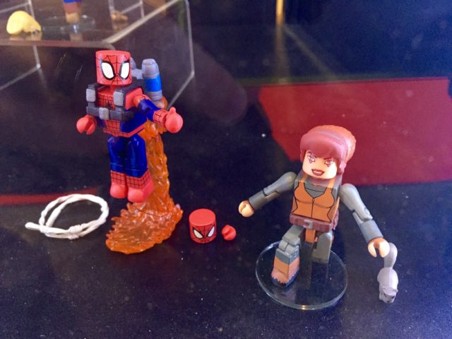 Marvel Animated Minimates Jetpack Spider-Man & Squirrel Girl