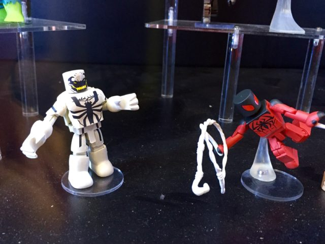 Marvel Minimates Anti-Venom and Scarlet Spider Figures