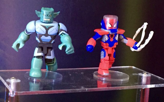 Walgreens Marvel Animated Minimates Green Goblin & Spider-Man