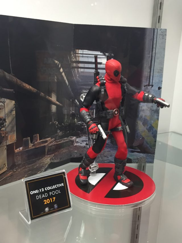 2016 NYCC Marvel ONE:12 Collective Deadpool Action Figure