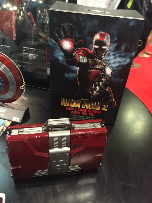 New York Comic Con 2016 eFX Iron Man Mark V Suitcase Charger