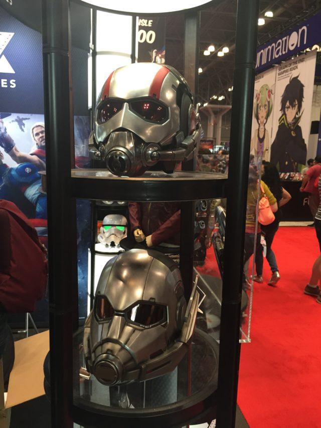 NYCC 2016 eFX Ant-Man Helmets Prop Replicas